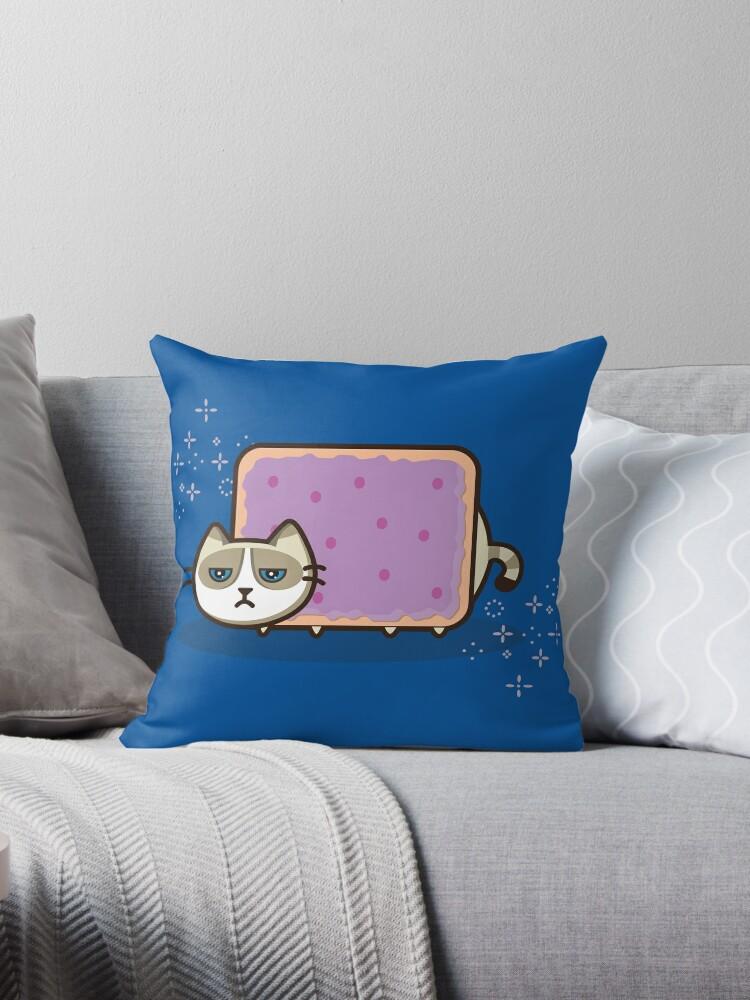 Grumpy Nyan Kitty by sheenachu