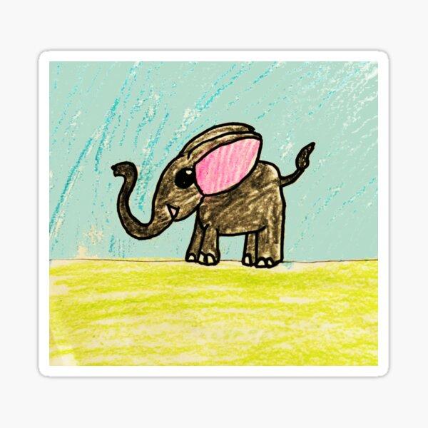 Little Elle Sticker