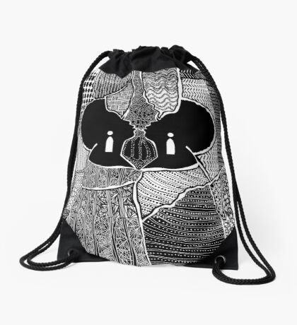 Embracing Myself Drawstring Bag