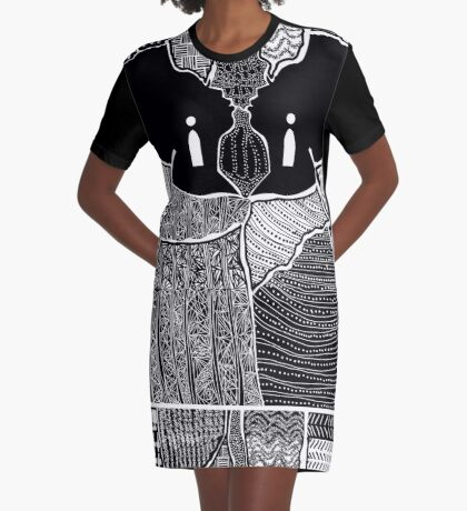 Embracing Myself Graphic T-Shirt Dress