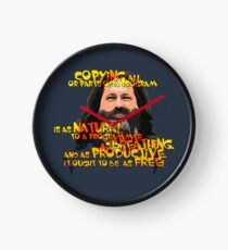 STALLMAN - IT OUGHT TO BE AS FREE Clock