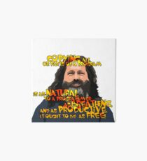 STALLMAN - IT OUGHT TO BE AS FREE Art Board