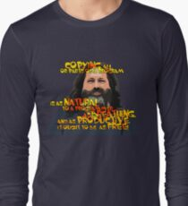 STALLMAN - IT OUGHT TO BE AS FREE Long Sleeve T-Shirt