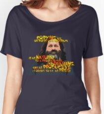 STALLMAN - IT OUGHT TO BE AS FREE Women's Relaxed Fit T-Shirt
