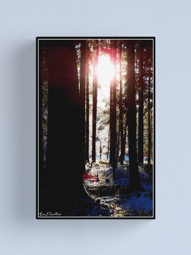 Alternate view of Winterland Canvas Print