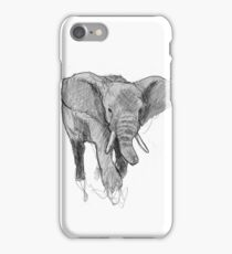 African elephant iPhone Case/Skin