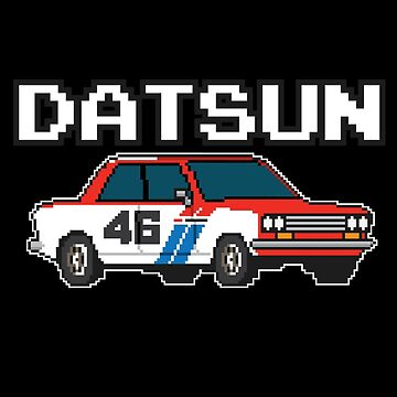 Datsun 510 8Bit by Pootermobile04