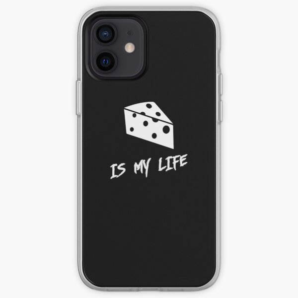 Cheese is my life iPhone Soft Case