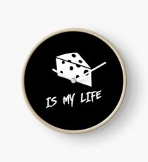 Cheese is my life Clock