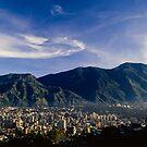 Avila y Caracas  by Eugenio  Opitz