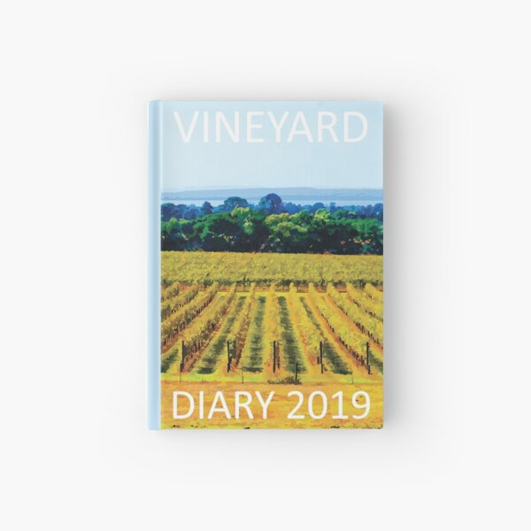 The Vineyard and Winemaker's Diary (South) Hardcover Journal