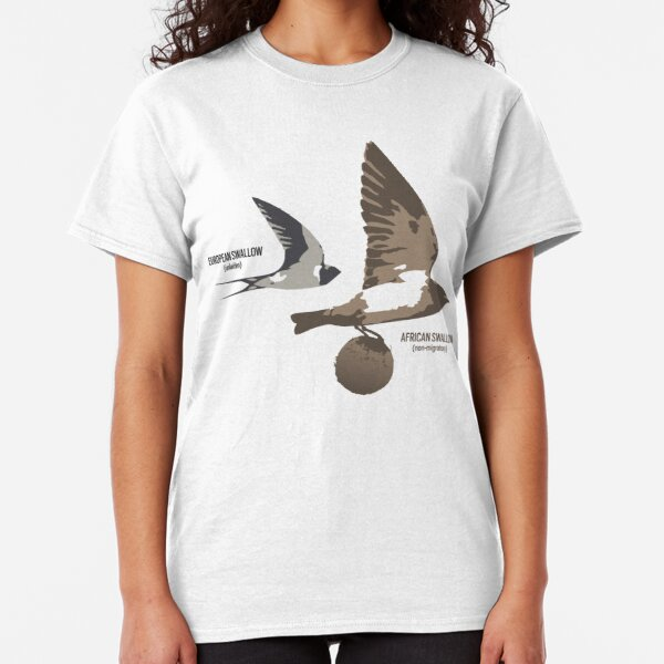 European and African Swallow Classic T-Shirt