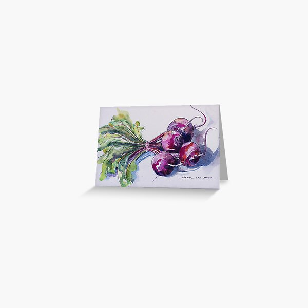 Beetroot Greeting Card