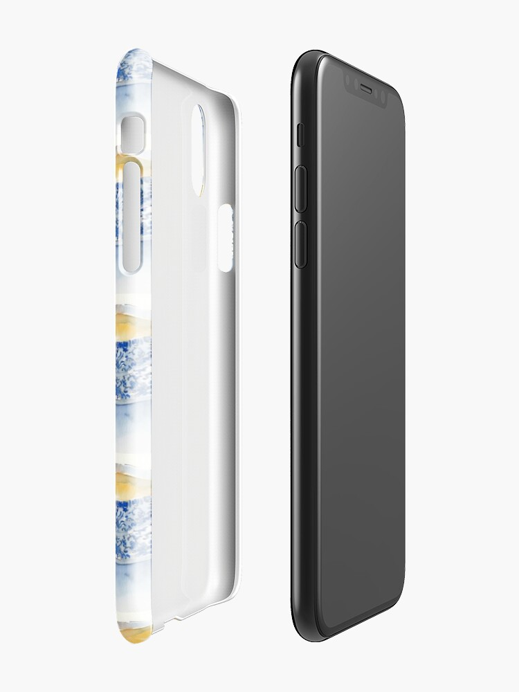 Alternate view of Japanese Teacup iPhone Case & Cover
