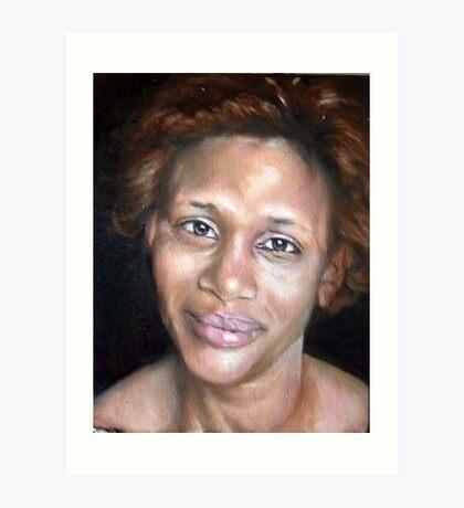 Portrait of Sao Art Print