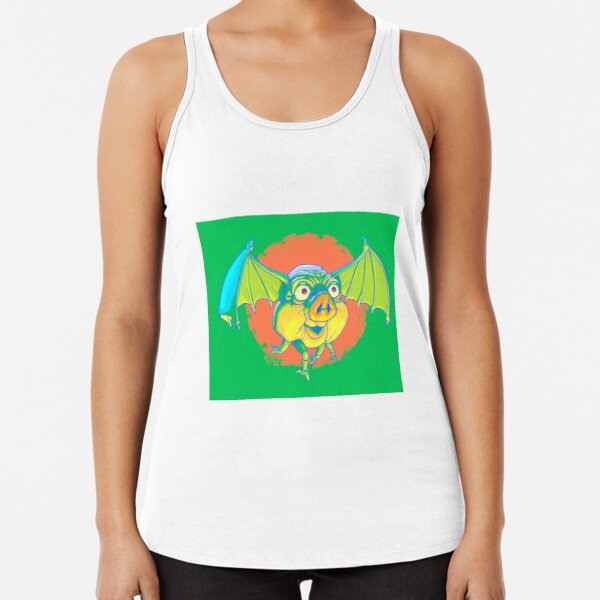 Frib The Fruub, Fit As A Fiddle Racerback Tank Top