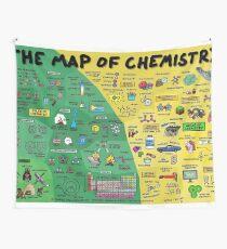 Die Karte der Chemie - Wandbehang