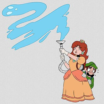 Daisy and Luigi in Luigi's Mansion by KenneDuck