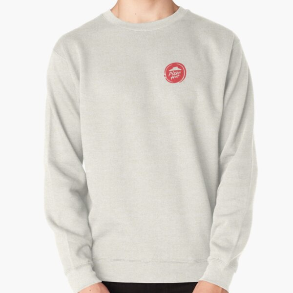 Pizza food restaurant Hut Logo Pullover Sweatshirt