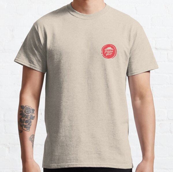 Pizza food restaurant Hut Logo Classic T-Shirt