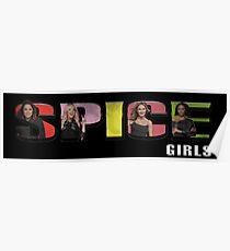 Spice Girls - Spice World Tour 2019 (Spice Album Logo) Poster