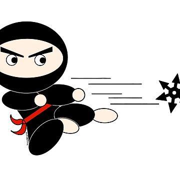 Ninja Star Reverse by Octobot52