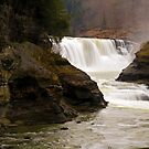 Lower Waterfalls-Letchworth State Park by BigD
