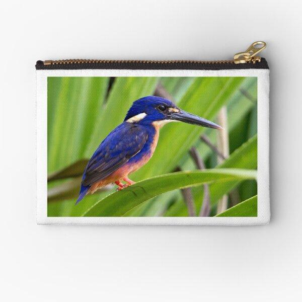 Azure Kingfisher, Kakadu National Park Zipper Pouch