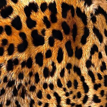 Vegan Leopard Skin Animal Fur Design by taiche