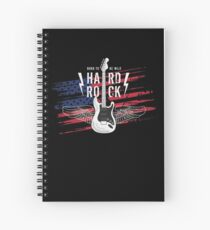 Electric Guitar Rock and droll Spiral Notebook