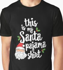 Santa's Favorite Teacher Christmas T-Shirt School Gift Xmas Graphic T-Shirt