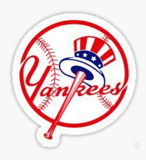 yankees stick ball Sticker