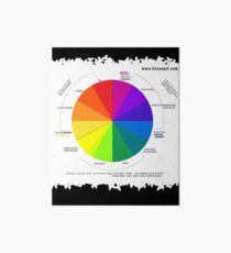 Colour Wheel Design  Art Board