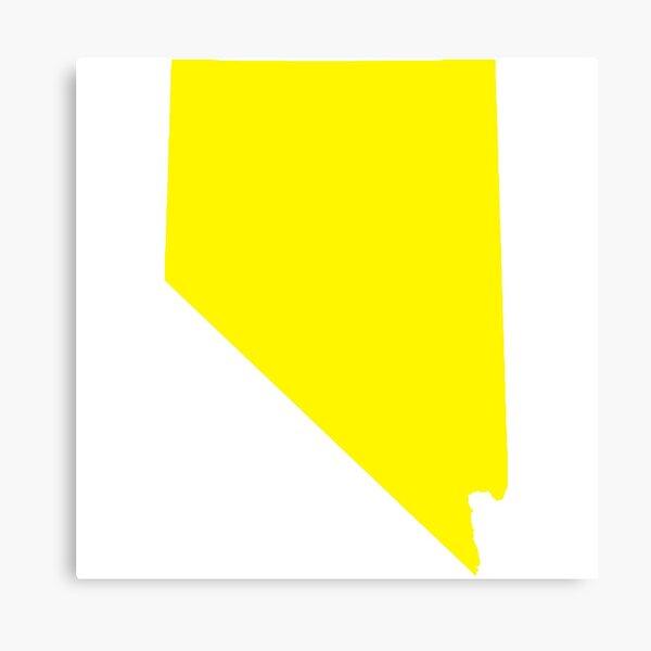 Yellow Nevada Canvas Print