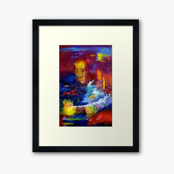 From deep within Framed Art Print