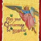 May your Christmas be angelic by Rowan  Lewgalon