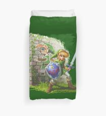 Zelda a link between two worlds Duvet Cover