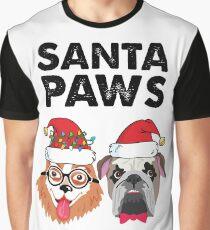 Santa Paws  Graphic T-Shirt