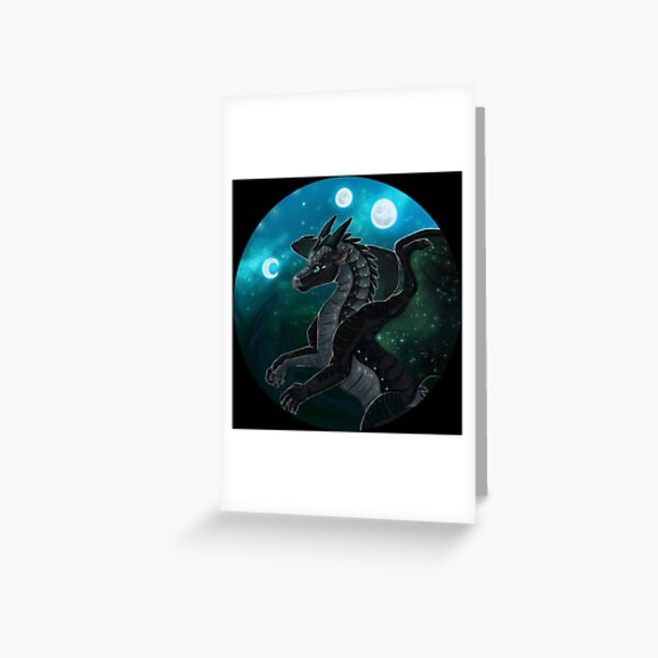 Ailes de feu - Moonwatcher Carte de vœux