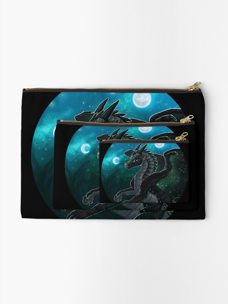 Alternate view of Wings of Fire - Moonwatcher Zipper Pouch