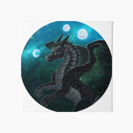 Wings of Fire - Moonwatcher Art Board Print