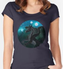 Wings of Fire - Moonwatcher Women's Fitted Scoop T-Shirt