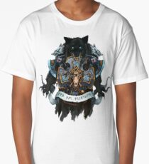 Wolves of Fenris Heraldry Long T-Shirt