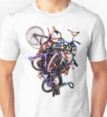 bmx stack rotated Unisex T-Shirt
