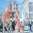 African Invasion. Dance of Little giraffes! by Tatyana Binovskaya