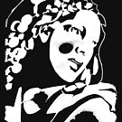 Woman design for dark tees by MaluC
