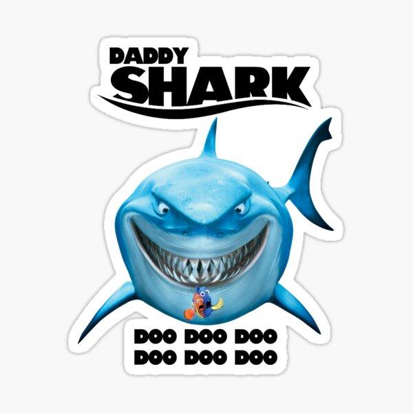 Daddy Shark - Finding Nemo Sticker