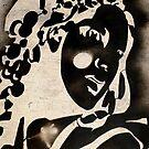 Woman stencil by MaluC
