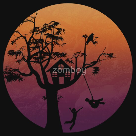 TShirtGifter presents: Sunset Silhouette