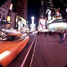 Movement at Times Square by JLaverty